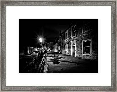 South Queensferry Main Street Framed Print by Buster Brown