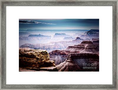 South Rim Grand Canyon 147 Framed Print by Arne Hansen