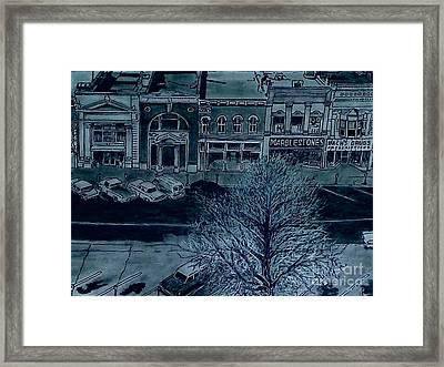 South Side Framed Print