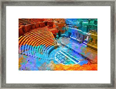 South Theatre Jordan Framed Print by Catf