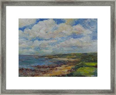 South To The Cape Framed Print