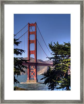 South Tower Framed Print by Bill Gallagher