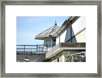 South Tower Framed Print