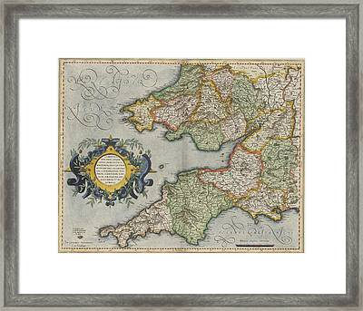 South Wales And South West England Framed Print by British Library