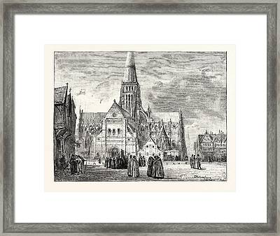 South-west View Of Old St Framed Print