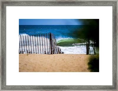 Southampton Paradise2 Framed Print