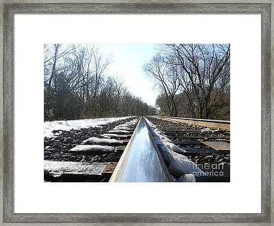 Southbound Framed Print by Jane Ford