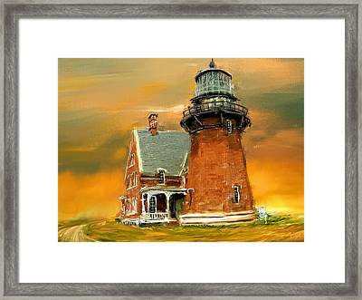 Southeast Glow Framed Print by Lourry Legarde
