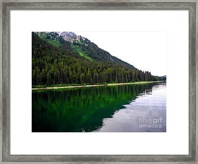 Southeast Shoreline Framed Print