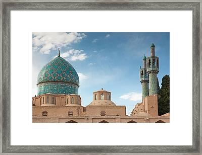 Southeastern Iran, Mahan, Aramgah-e Framed Print