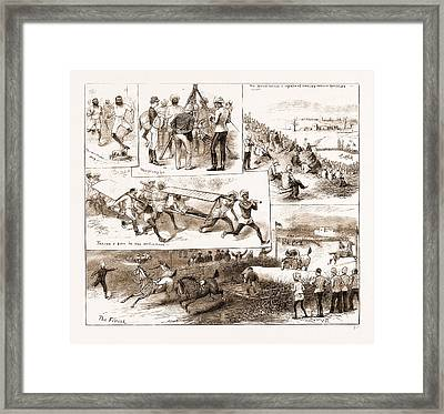 Southern Afghanistan Athletic Meeting At Hurnai Framed Print