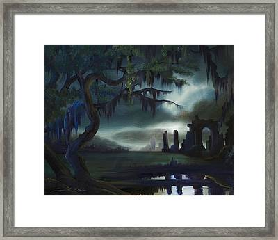 Southern Arch Framed Print by James Christopher Hill