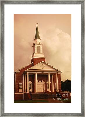 After The Storm Framed Print by Manda Renee