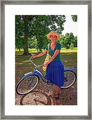 Southern Belle Oil Framed Print