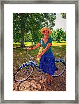 Southern Belle - Paint Framed Print