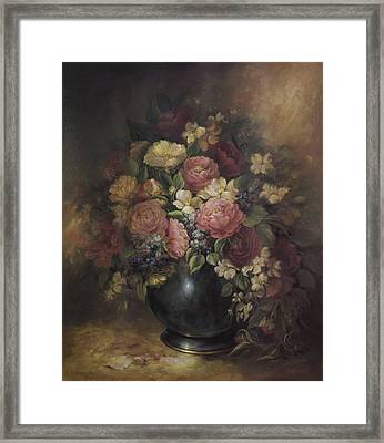 Southern Bouquet Framed Print