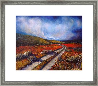 Southern California Road Framed Print