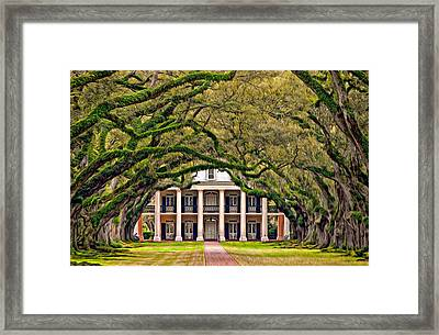 Southern Class Oil Framed Print