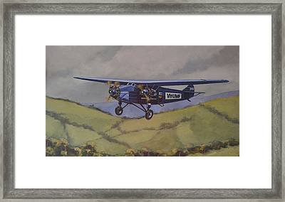 Framed Print featuring the painting Southern Cloud 1931 by Murray McLeod