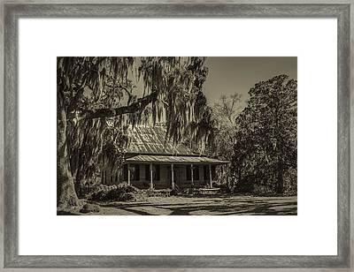 Southern Comfort Antique Framed Print by Debra and Dave Vanderlaan