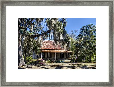 Southern Comfort Framed Print by Debra and Dave Vanderlaan
