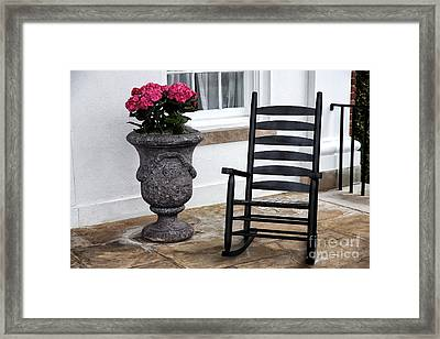 Southern Comfort Framed Print by John Rizzuto
