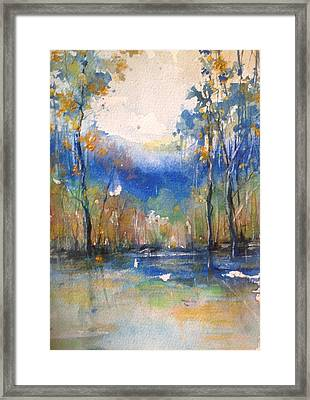Southern Comfort Framed Print by Robin Miller-Bookhout