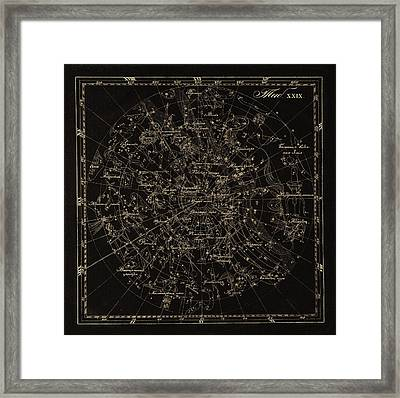 Southern Constellations, 1829 Framed Print by Science Photo Library