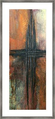 Framed Print featuring the painting Southern Cross by Buck Buchheister