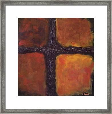 Southern Cross Framed Print by Jim Ellis