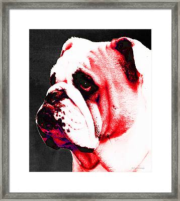 Southern Dawg By Sharon Cummings Framed Print