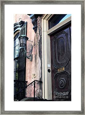 Southern Door Framed Print by John Rizzuto