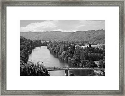Southern France Framed Print by Georgia Fowler