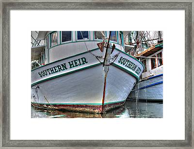 Southern Heir Framed Print