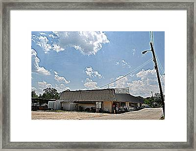 Southern Lady Framed Print by Beverly Hammond
