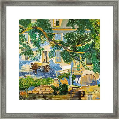 Southern Life By Stan Bialick Framed Print by Sheldon Kralstein