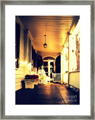 Southern Lifestyle Made In Charlestone Framed Print by Susanne Van Hulst