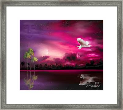 Framed Print featuring the painting Southern Magic by S G