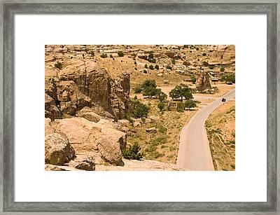 Southern Mesa View Framed Print