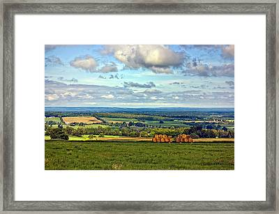 Southern Ontario Framed Print by Steve Harrington