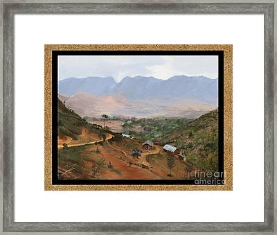 Southern Pare Framed Print