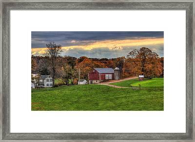 Southern Pennsylvania Framed Print