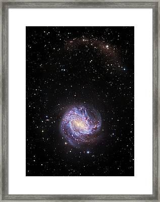 Southern Pinwheel Galaxy Framed Print by Robert Gendler