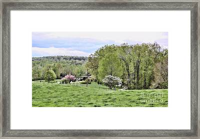 Southern Plains Framed Print by Chuck Kuhn