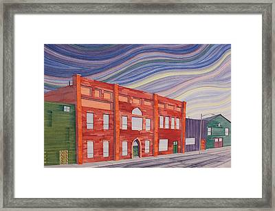 Southern Plains Townsacpe Framed Print by Scott Kirby