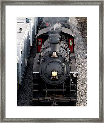 Southern Railway #630 Steam Engine Framed Print