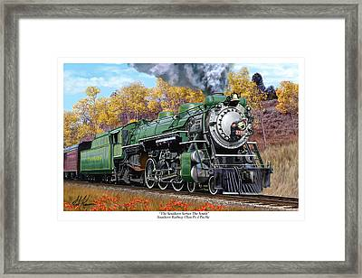 Southern Railway Class Ps-4 Pacific Framed Print by Mark Karvon