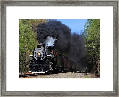 Southern Railway Steam Engine #630 Framed Print