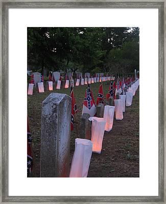 Southern Sadness Framed Print