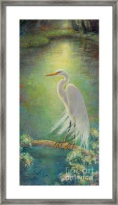 Southern Serenity  Framed Print by Lori  McNee